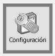 TPV Caja Amiga. Botón de configuración