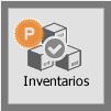 TPV Caja Amiga. Botón de Inventarios