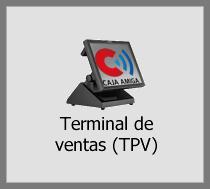 TPV Caja Amiga. Botón de terminal punto de venta