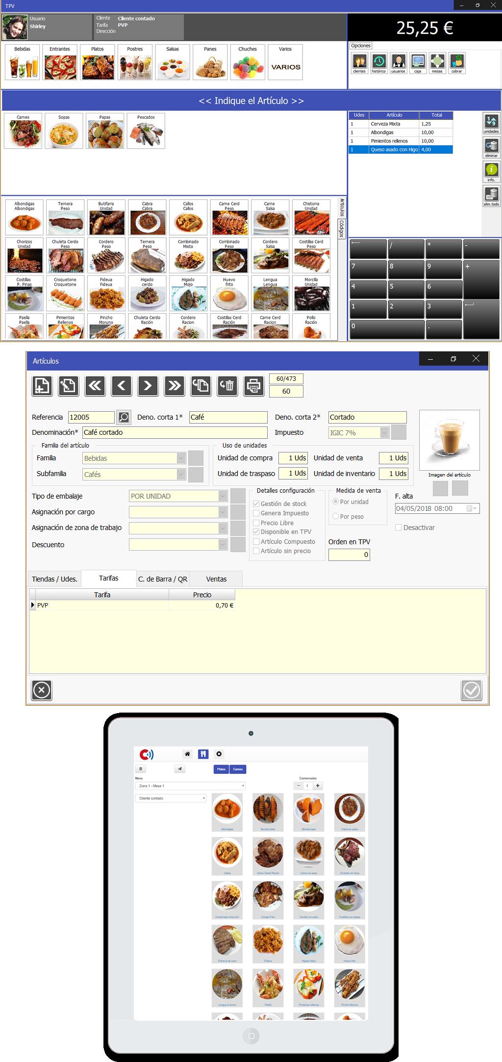 En Caja Amiga puedes configurar y ordenar los productos por categoría